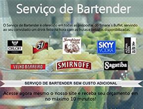 Bartender | Ernane´s Buffet em Indaiatuba
